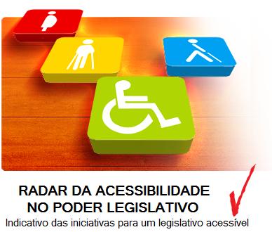 Radar da Acessibilidade no Legislativo